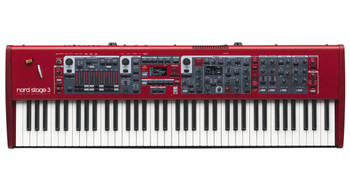 Nord Stage 3 Compact Stage Keyboard 73-key Digital Stage Piano with Synth, Organ, and Piano Sound Generators and 2GB Memory for Nord Piano Library