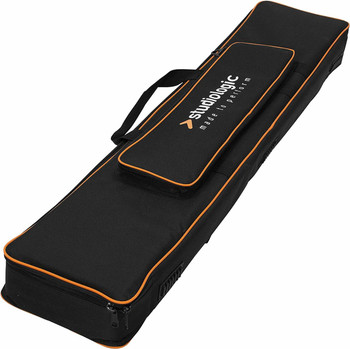 Studiologic Numa Compact 2 and 2x Bag Keyboard Soft Case Soft Case for Studiologic Numa Compact 2 and 2x with 3 Carrying Modes and Outer Accessories Pocket