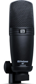 PreSonus M7 Large-diaphragm Condenser Microphone Large-diaphragm Condenser Microphone with Cardioid Polar Pattern, 10' Cable, and Accessories