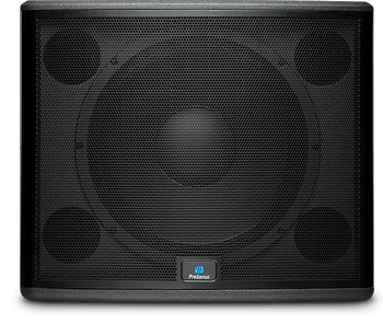 "PreSonus StudioLive 18sAI 1000W 18"" Powered Subwoofer 1,000-watt, 18"" Powered Subwoofer with DSP, Wireless Networking, Stereo Inputs, and Pole Inserts"
