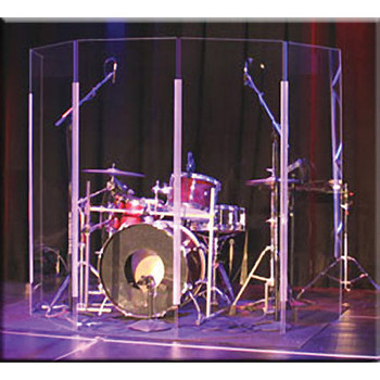 ClearSonic LITE2466-5 Lightweight Drumshield