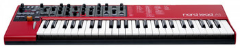 Nord Lead A1 Analog Modeling Synthesizer 49-key Analog Modeling Synthesizer, 4-part Multitimbral, with 24-note Polyphony, Multi-configurable Oscillator, 5-waveform LFO, 12/24dB Lowpass Filter, and 4 Arpeggiators