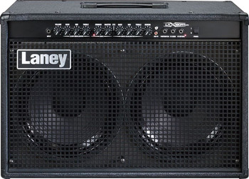 "LANEY LX GUITAR COMBO, 120 W, 2x12"" CUSTOM HH DRIVERS, 2 CH,  REVERB, HEADPHONE & CD IN"