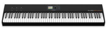 Studiologic SL88 Studio Keyboard Controller 88-key MIDI Keyboard Controller with Aftertouch-enabled TP/100LR Hammer Action, TFT Color Display, and 3 X/Y Stick Controllers