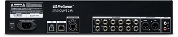 PreSonus StudioLive 24R 24 Channel Rackmount Digital Mixer 26-input, 32-channel w24 Mic Preamps, Built-in 40-in/40-out USB 2.0 and 55-in/55-out AVB Audio Interfaces, Integrated Stereo SD Digital Recorder+Remote Software Control+Digital FX