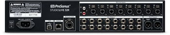 PreSonus StudioLive 32R 34-input, 32-channel Rackmount Digital Mixer with 32 Microphone Preamps, Built-in 40-in/40-out USB 2.0 and 55-in/55-out AVB Audio Interfaces, Integrated Stereo SD Digital Recorder + Remote Software Control + Onboard Digital FX