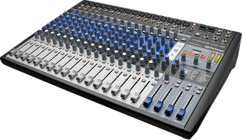 PreSonus StudioLive AR22 USB Mixer/Audio Interface w Effects 22-channel Analog/Digital Mixer w 16 Mic Preamps, Built-in 22-in/4-out, 24-bit/96kHz USB 2.0, 2-in/2-out SD Digital Recorder, Bluetooth Streaming and Onboard Stereo Digital FX