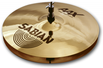 "Sabian AAX Cymbal Set - 4-piece with Free 18"" Crash B20 Bronze Cymbal Set with 14"" Hi-Hats, 16"" Crash, 18"" Crash, and a 20"" Ride - Modern Bright"