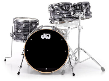 DW Collector's Series 5-Piece Shell Pack Black Oyster Finish