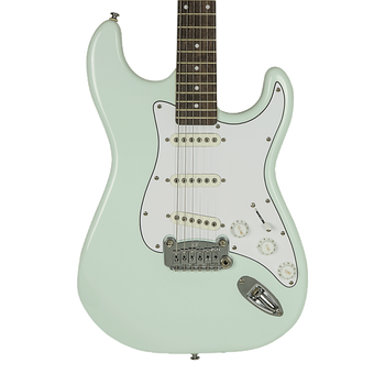 G&L Tribute Legacy Electric Guitar Surf Green w/ Rosewood Fretboard