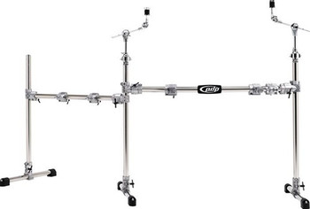 PDP RACK MAIN & SIDE-CHROME OVER STEEL