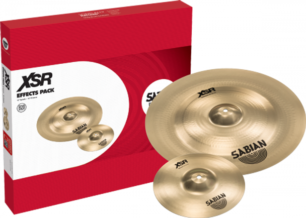 "Sabian XSR Effects Cymbal Set 2-piece Cymbal Set with 10"" Splash and 18"" Chinese Cymbal"