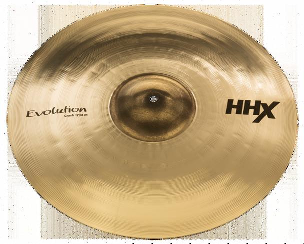 "Sabian HHX Evolution Crash Cymbal - 19"" Brilliant Finish 19"" Crash Cymbal"
