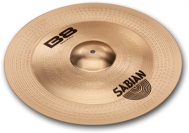 """Sabian B8 Chinese Cymbal - 18"""" China Cymbal Made from B8 Bronze"""