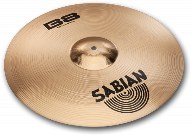 Sabian 17-Inch B8 Thin Crash Cymbal
