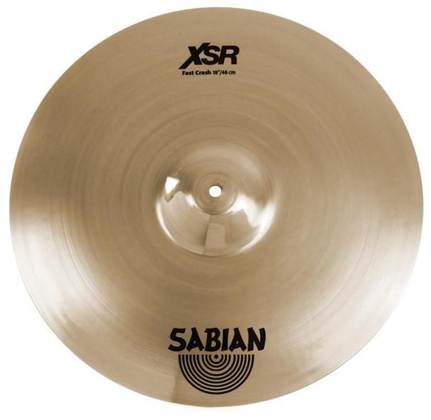 "Sabian XSR Fast Crash Cymbal - 18"""
