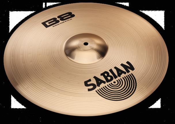 "Sabian B8 Medium Crash Cymbal - 18"""