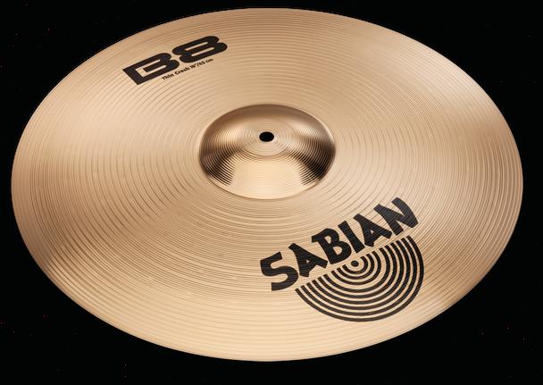 """Sabian B8 Thin Crash Cymbal - 15"""""""