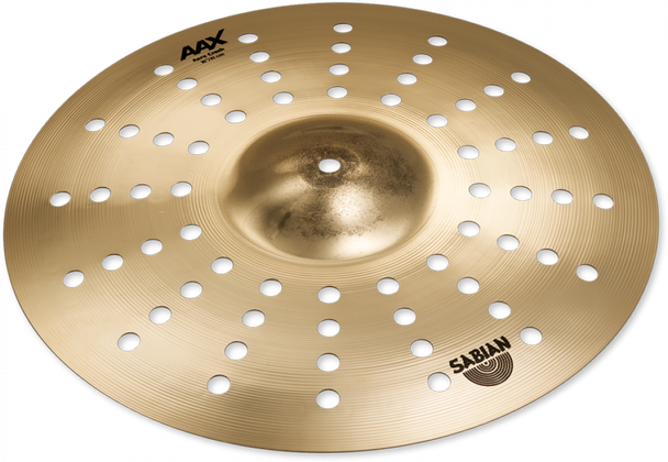 "Sabian AAX Aero Crash Cymbal -  16"" Aero Crash Cymbal"