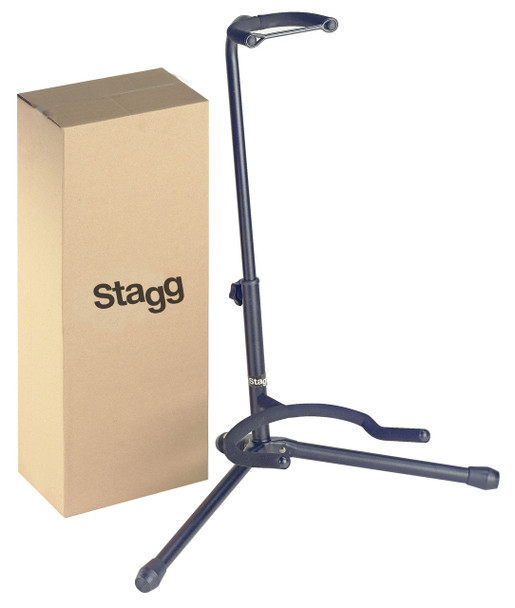 Stagg Tripod Guitar Stand with Folding Legs - Black