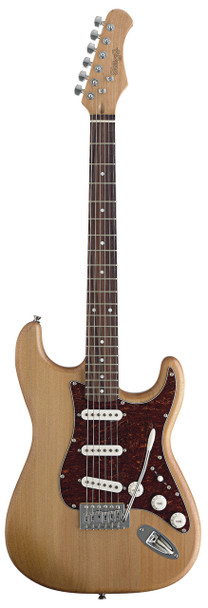 Stagg S300-NS Stratocaster Standard Electric Guitar - Natural Satin