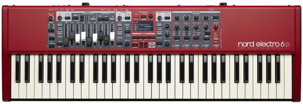 Nord Electro 6D 61 61-note Stage Piano with Piano and Organ Sounds, Physical Drawbars, Effects, USB, and Rotary Speaker Emulator