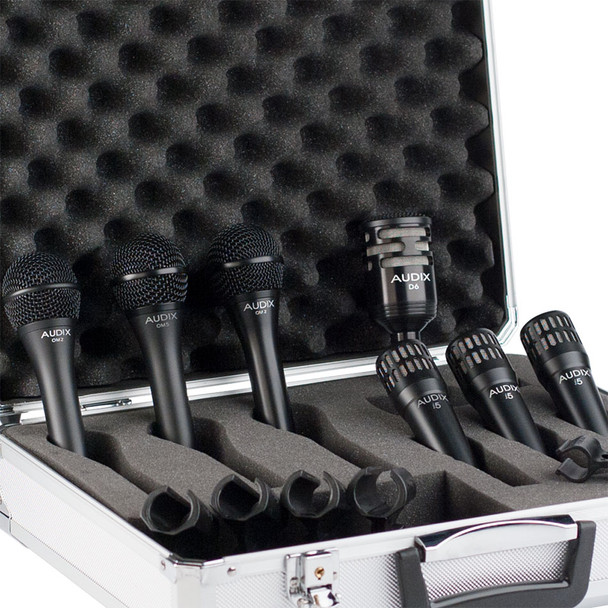 Audix DP7 Pro 7-Piece Band Microphone Pack
