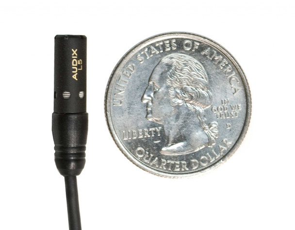 Audix L5 Miniature Lavalier Microphone