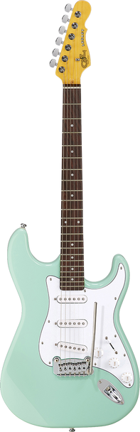 G&L Legacy Surf Green over Basswood
