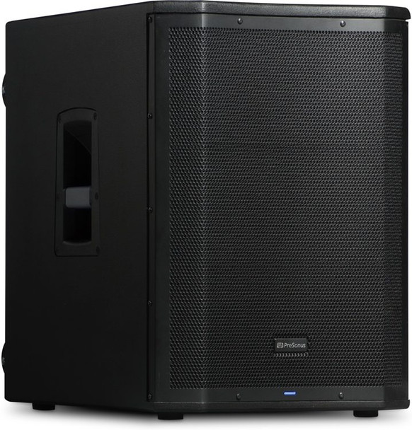 "PreSonus Air15S 1200W 15"" Powered Subwoofer 1,200W Active PA Subwoofer with 15"" LF Driver, 2 Combo XLR/TRS Inputs, 1/8"" Stereo Input, Variable Lowpass Filter, and Onboard DSP"