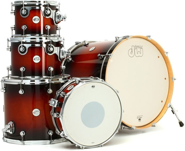 DW Design Series 5-piece Shell Pack - Tobacco Burst
