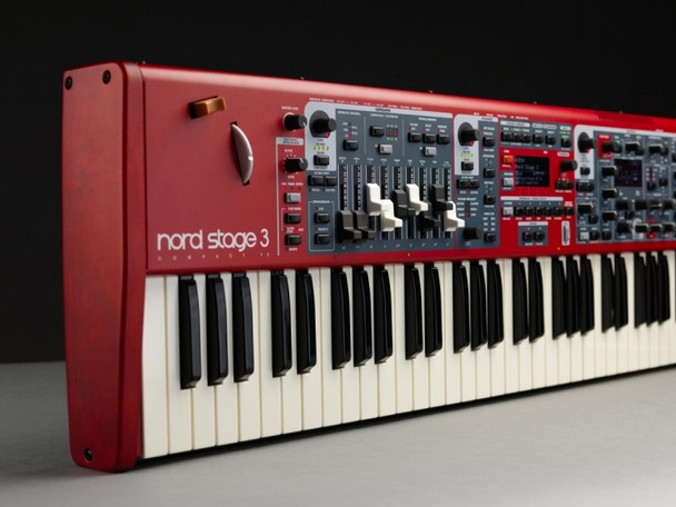 Nord Stage 3 HP76 Stage Keyboard 76-key Digital Stage Piano with Synth, Organ, and Piano Sound Generators and 2GB Memory for Nord Piano Library
