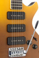 Stagg Electric Guitar Silveray series, Custom Deluxe model, with solid alder body Fading Sun Burst