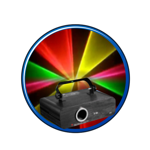 The Rainbow Box 500 Animated Full Color Laser