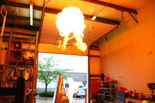 Inferno Propane Fire Cannon Flame Shooter