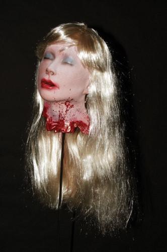 Blonde Debbie's Head