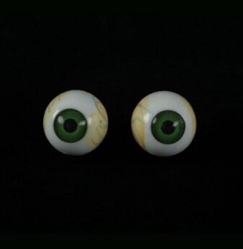Eyes w/ Green Iris Halloween Prop