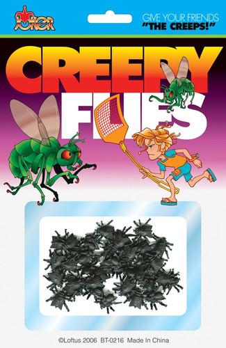 Creepy Flies Carded