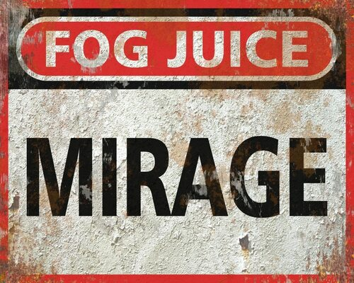 Mirage Quick Dissipating Fog Fluid CONCENTRATE - 13 Gallons