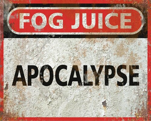 Apocalypse Long Lasting Fog Fluid CONCENTRATE - 13 Gallons