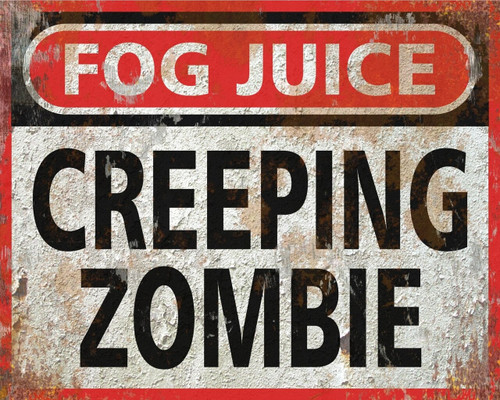 Creeping Zombie Low Lying Ground Fog Fluid CONCENTRATE - 13 Gallons