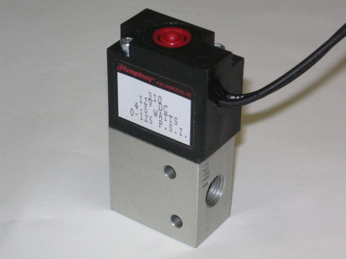 """2-Way 1/4"""" Solenoid Valve With All Fittings"""