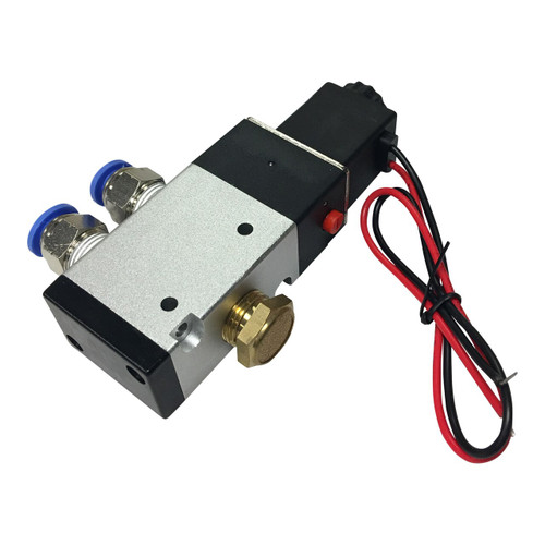 """3-Way Solenoid Valve 3/8"""" With All Fittings"""