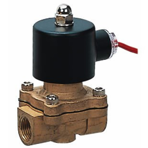 "HIGH FLOW 1/2"" 2-Way Solenoid Valve With All Fittings"