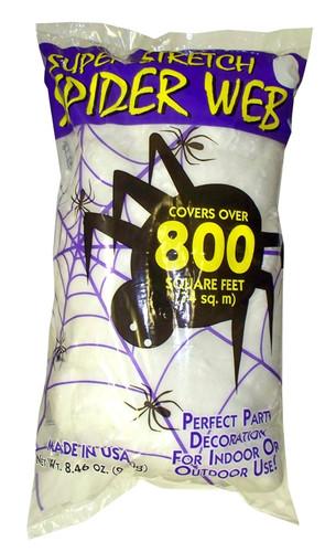 White Spider Web