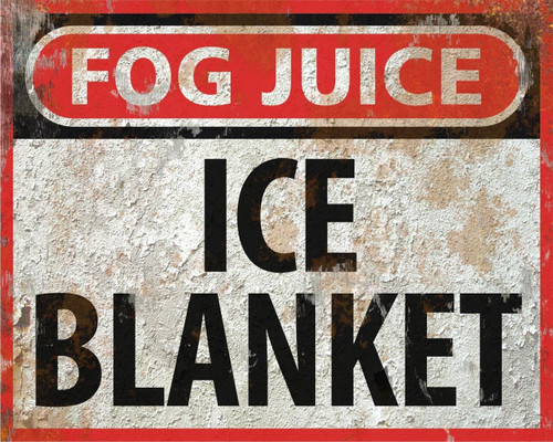 Ice Blanket Ultra Quick-Dissipating Indoor Ground Fog Fluid CONCENTRATE (13 Gallons)