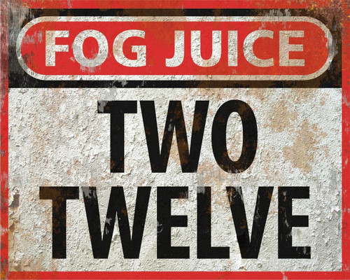 Two Twelve Instant-Dissipating Steam Fog Fluid CONCENTRATE (13 Gallons)