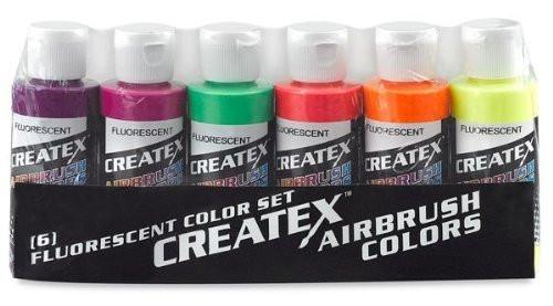 Fluorescent Airbrush Paint Set