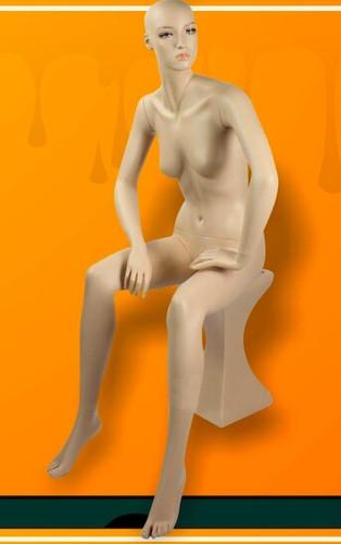 Sitting Fiberglass Mannequin