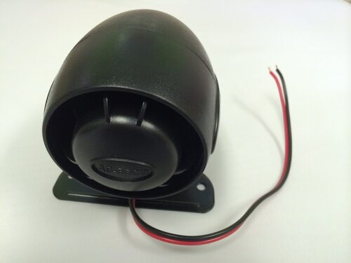 12-volt Loud Siren. Piercing 120db.